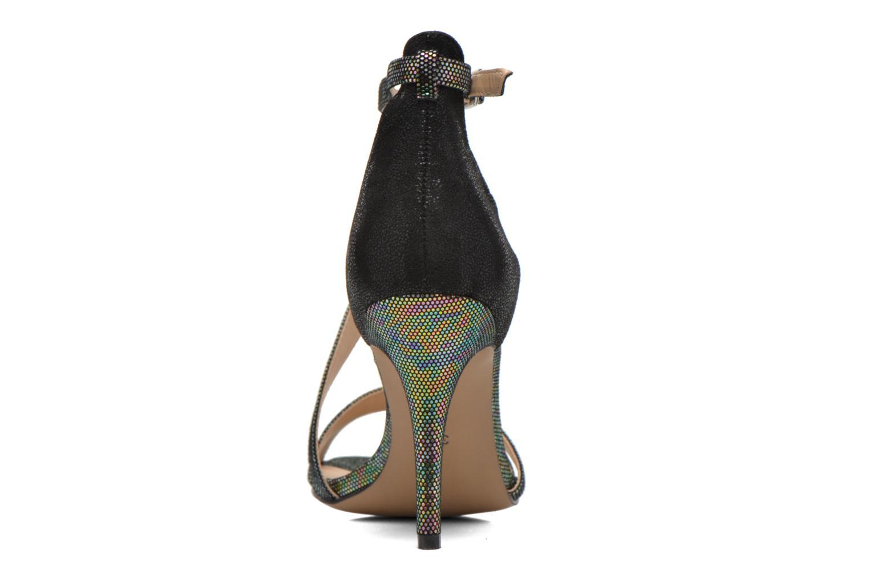Sandales et nu-pieds Divine Factory Flufia Noir vue droite
