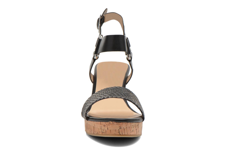 Sandales et nu-pieds Divine Factory Cotonilla Noir vue portées chaussures