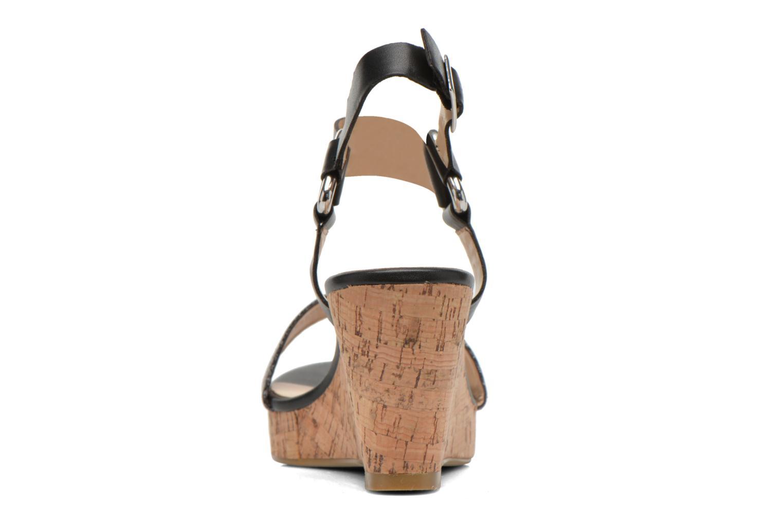 Sandales et nu-pieds Divine Factory Cotonilla Noir vue droite
