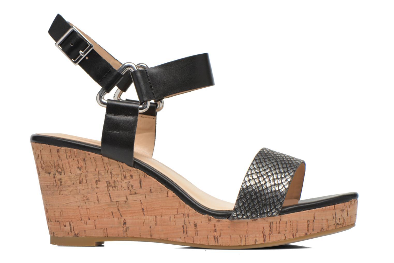 Sandales et nu-pieds Divine Factory Cotonilla Noir vue derrière