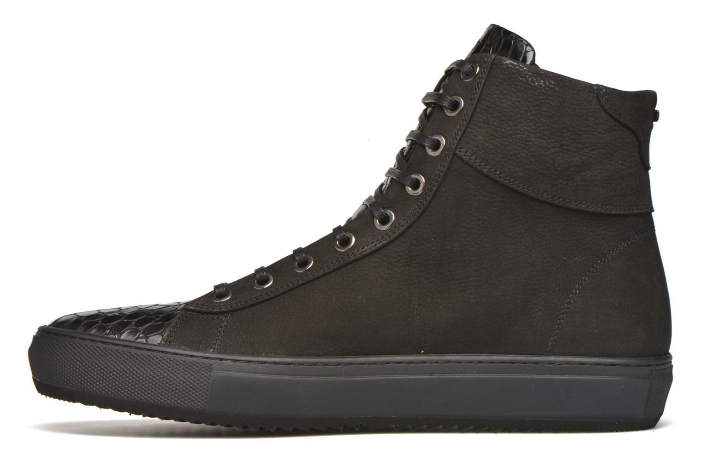Sneaker Karl Lagerfeld Adolfo schwarz ansicht von vorne