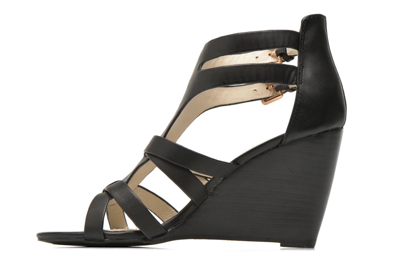 Sandales et nu-pieds Buffalo Evelina Noir vue face