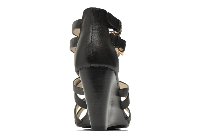 Sandales et nu-pieds Buffalo Evelina Noir vue droite