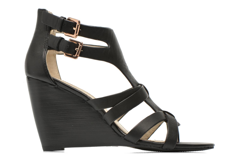 Sandales et nu-pieds Buffalo Evelina Noir vue derrière
