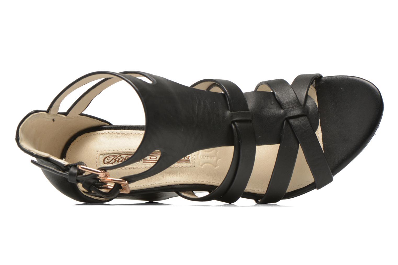 Sandales et nu-pieds Buffalo Evelina Noir vue gauche