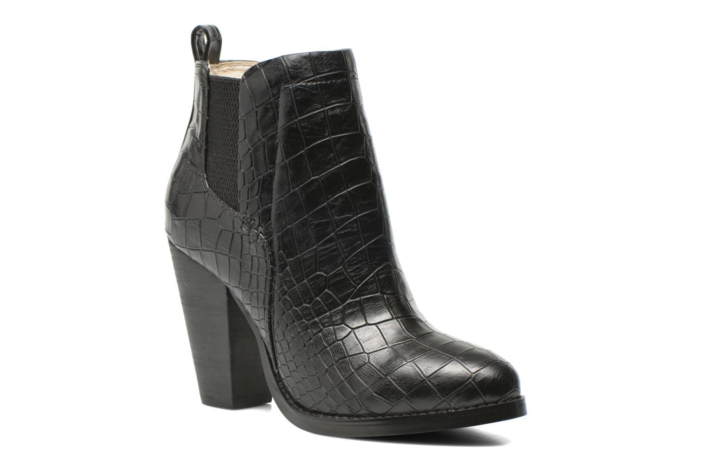 Bottines et boots Buffalo Noely Noir vue détail/paire