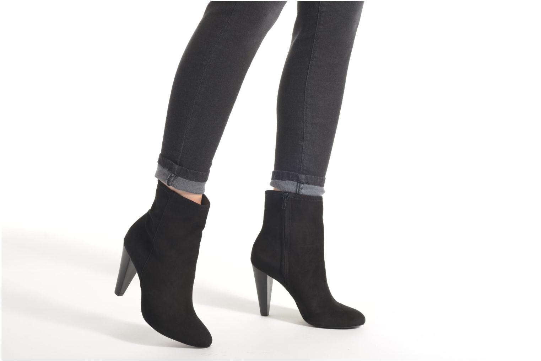 Stiefeletten & Boots Buffalo Naia schwarz ansicht von unten / tasche getragen