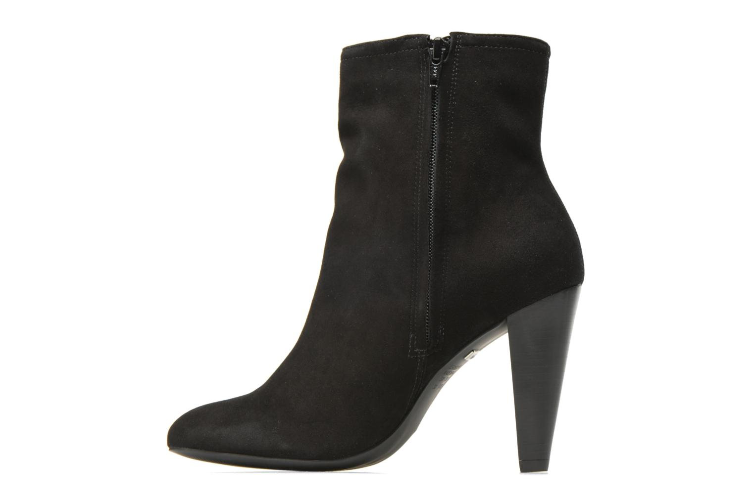 Bottines et boots Buffalo Naia Noir vue face