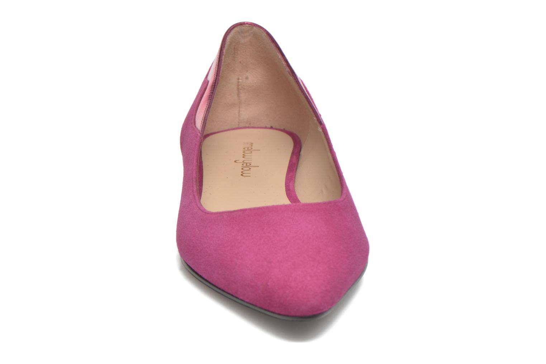 Ballerines Mellow Yellow Atamara Rose vue portées chaussures