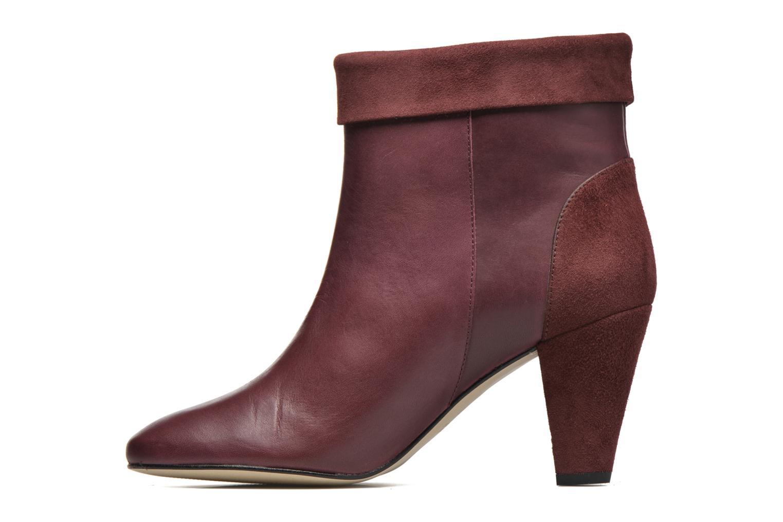 Bottines et boots Petite mendigote Argentiere Bordeaux vue face