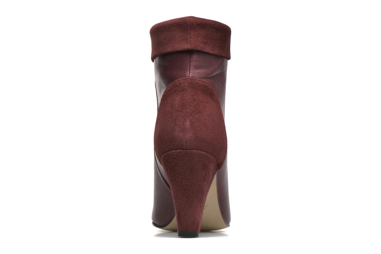 Bottines et boots Petite mendigote Argentiere Bordeaux vue droite