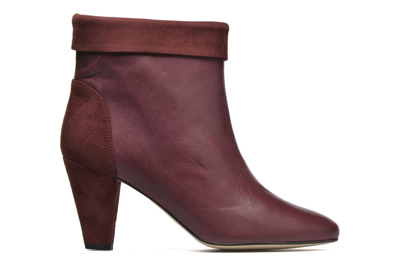 Bottines et boots Petite mendigote Argentiere Bordeaux vue derrière