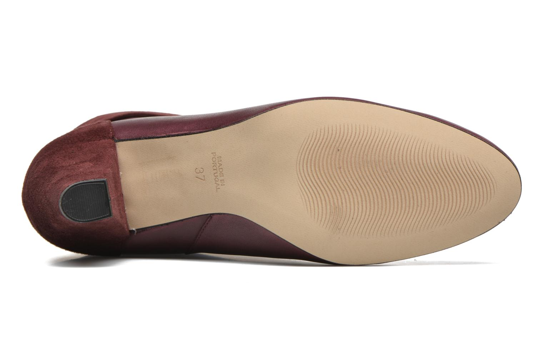 Bottines et boots Petite mendigote Argentiere Bordeaux vue haut