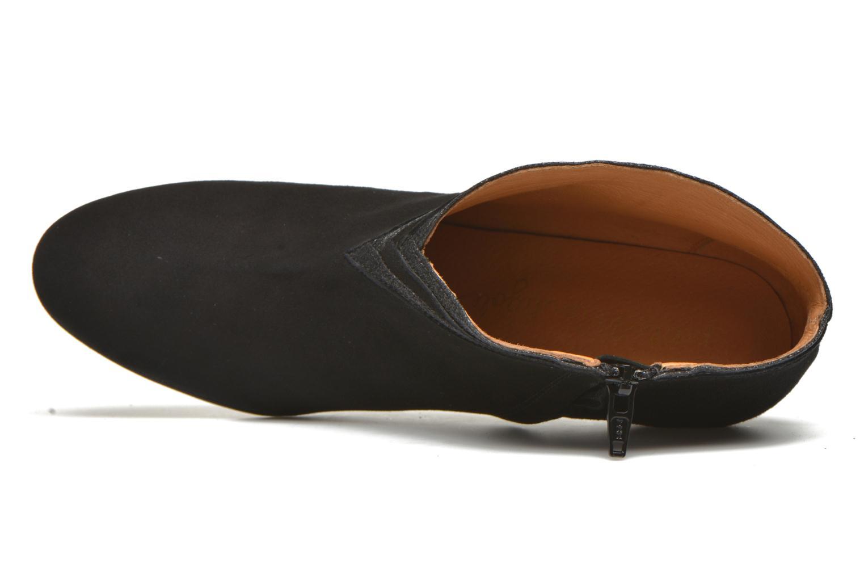 Bottines et boots Petite mendigote Granier Noir vue gauche