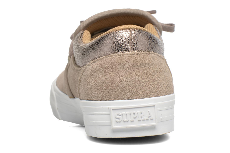 Sneaker Supra Cuba w braun ansicht von rechts