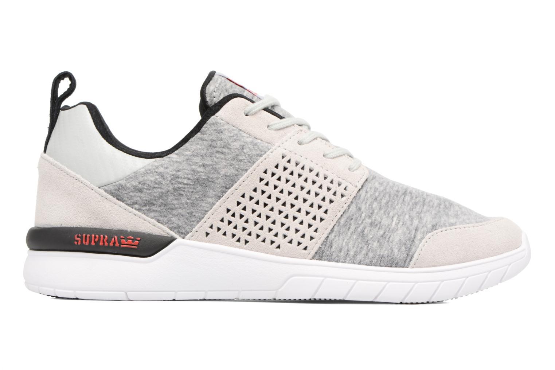 Sneakers Supra Scissor Grigio immagine posteriore