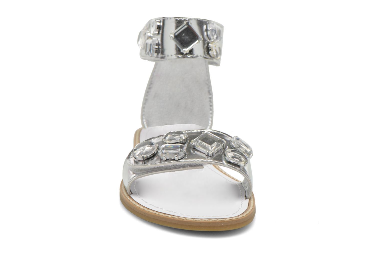 Sandali e scarpe aperte Primigi Clareta Argento modello indossato