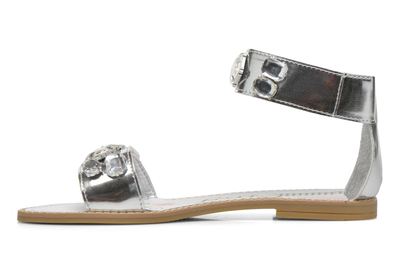 Sandalen Primigi Clareta silber ansicht von vorne