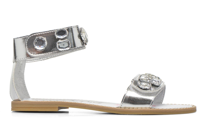 Sandales et nu-pieds Primigi Clareta Argent vue derrière