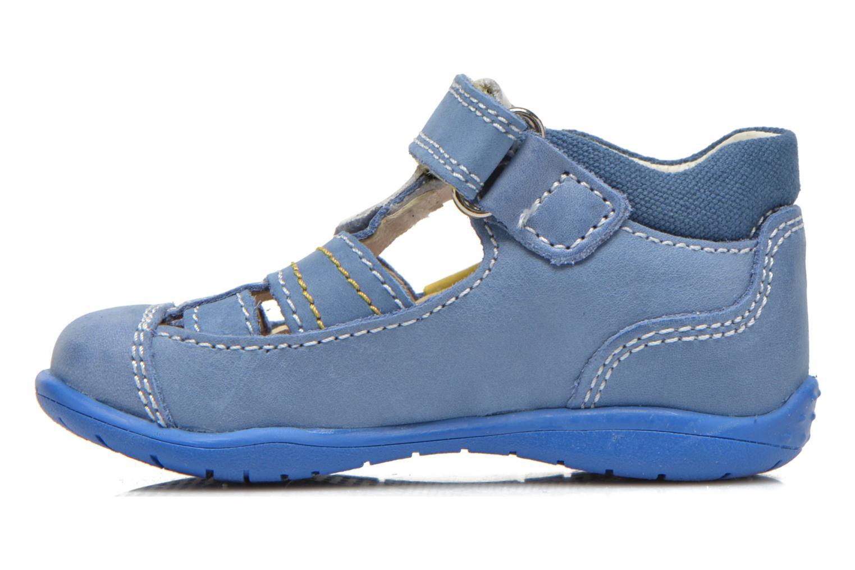 Zapatos con velcro Primigi Ray Azul vista de frente