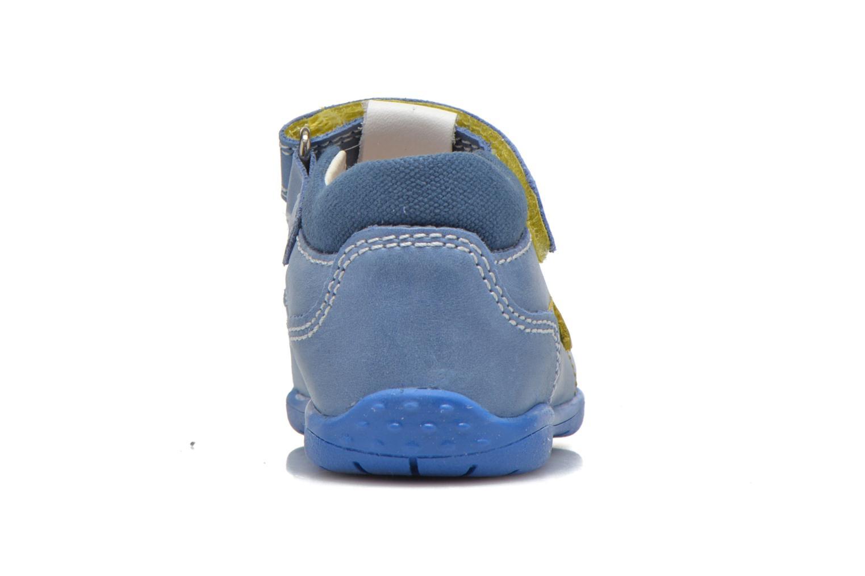 Zapatos con velcro Primigi Ray Azul vista lateral derecha
