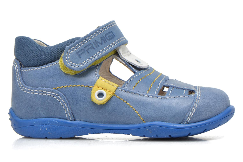 Zapatos con velcro Primigi Ray Azul vistra trasera