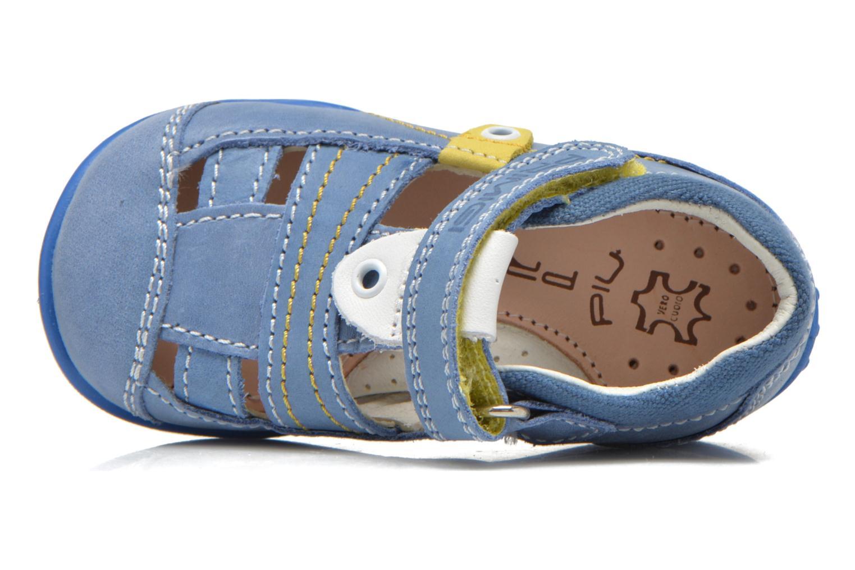 Zapatos con velcro Primigi Ray Azul vista lateral izquierda