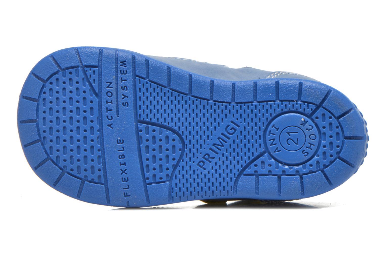 Zapatos con velcro Primigi Ray Azul vista de arriba