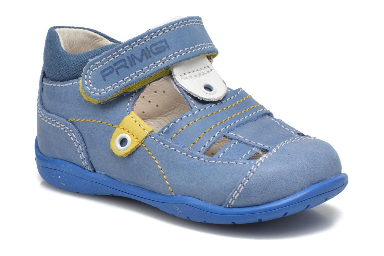 Zapatos con velcro Primigi Ray Azul vista de detalle / par