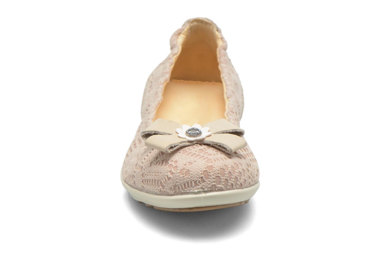 Ballerines Primigi Damira Beige vue portées chaussures