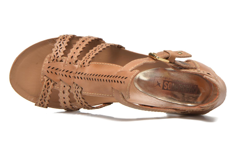 Sandales et nu-pieds Pikolinos Praga 871-9748 Marron vue gauche