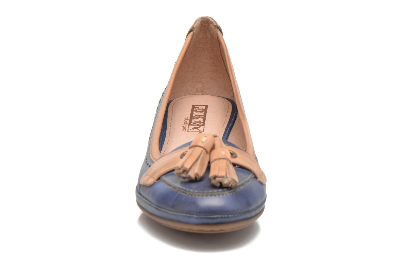 High heels Pikolinos Trento 870-7178 Blue model view