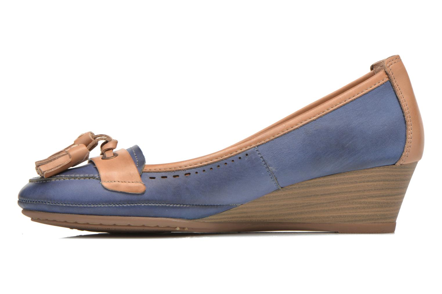 High heels Pikolinos Trento 870-7178 Blue front view