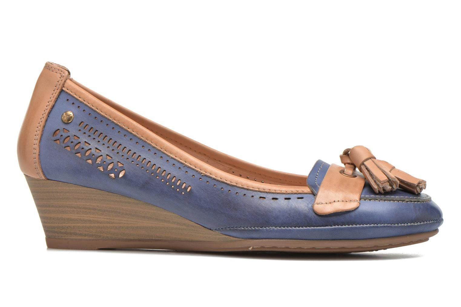 High heels Pikolinos Trento 870-7178 Blue back view