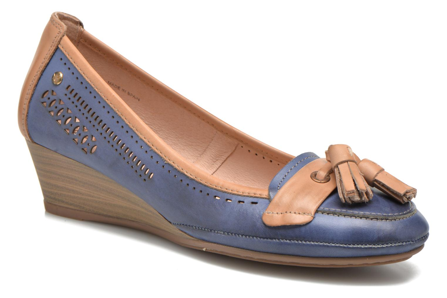 High heels Pikolinos Trento 870-7178 Blue detailed view/ Pair view
