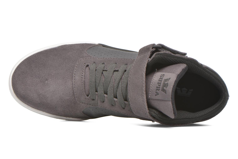 Chaussures de sport Supra Ellington Strap Noir vue gauche