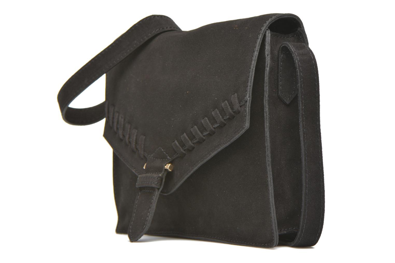 Handbags Minelli MC 909/VEL Porté travers Black model view