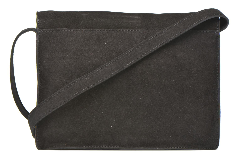 Handbags Minelli MC 909/VEL Porté travers Black front view