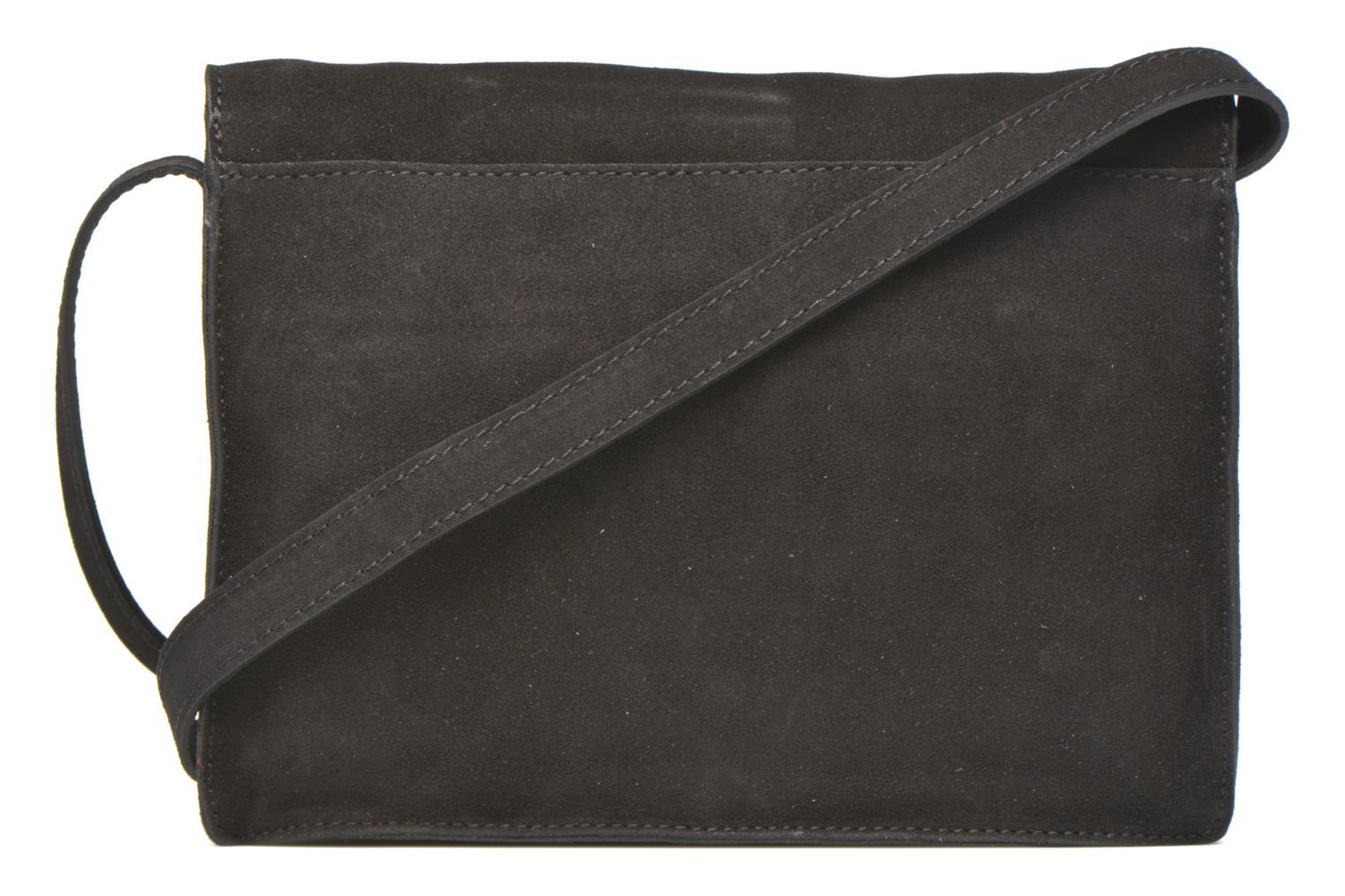 Handtaschen Minelli MC 909/VEL Porté travers schwarz ansicht von vorne