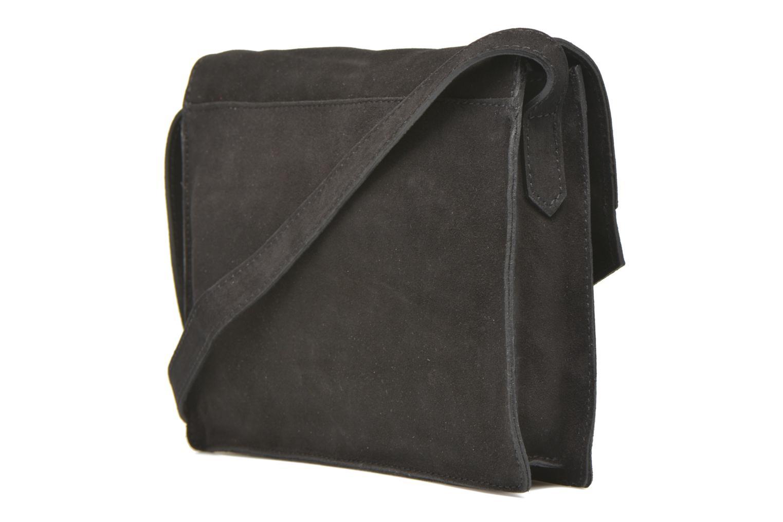 Handtaschen Minelli MC 909/VEL Porté travers schwarz ansicht von rechts