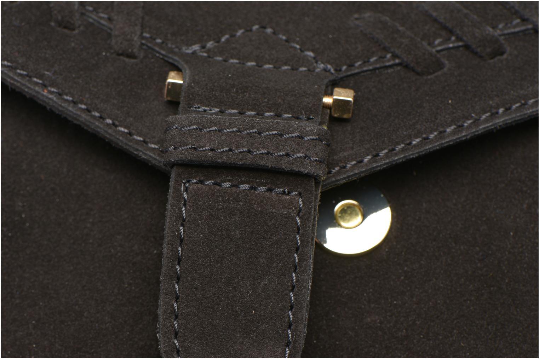Handtaschen Minelli MC 909/VEL Porté travers schwarz ansicht von links