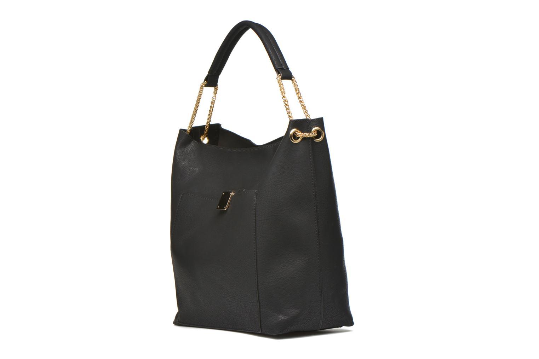Handtaschen Minelli MS 911 Porté épaule schwarz schuhe getragen