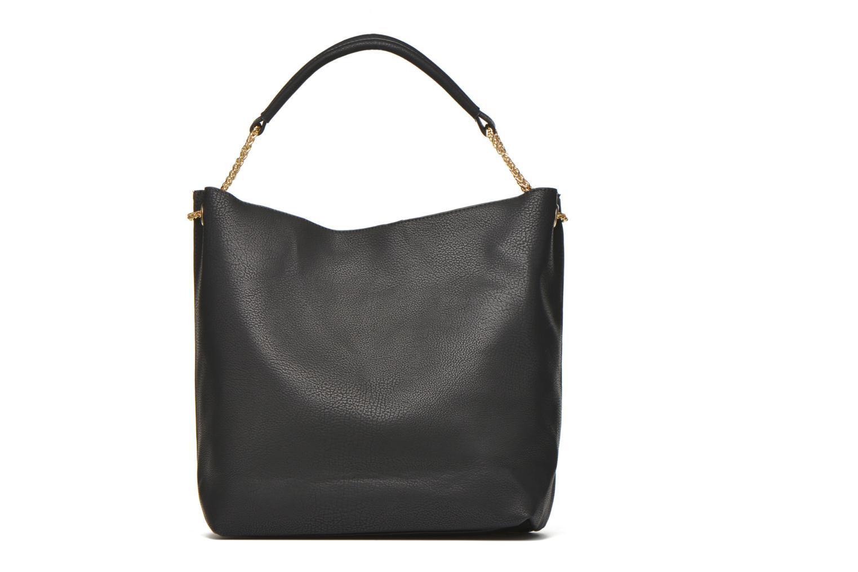 Handtaschen Minelli MS 911 Porté épaule schwarz ansicht von vorne