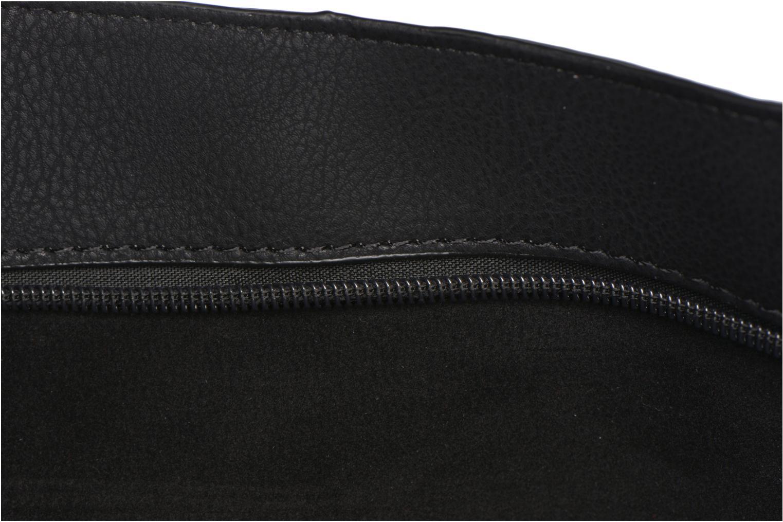 Handtaschen Minelli MS 911 Porté épaule schwarz ansicht von hinten