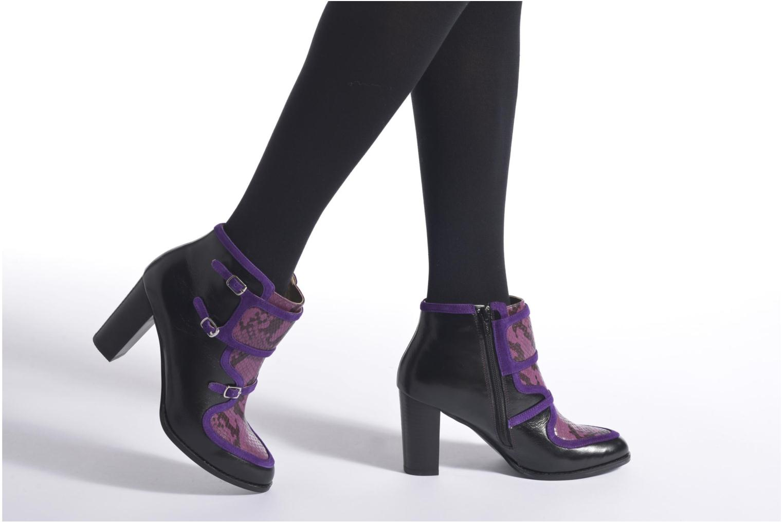 Bottines et boots Mellow Yellow Alisi Noir vue bas / vue portée sac