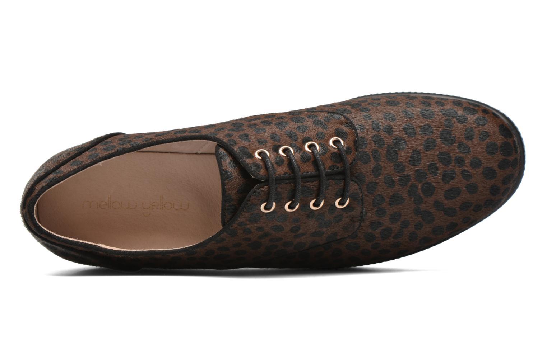 Zapatos con cordones Mellow Yellow Aloumer Marrón vista lateral izquierda