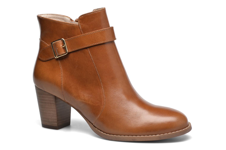 Bottines et boots Mellow Yellow Postiche Marron vue détail/paire