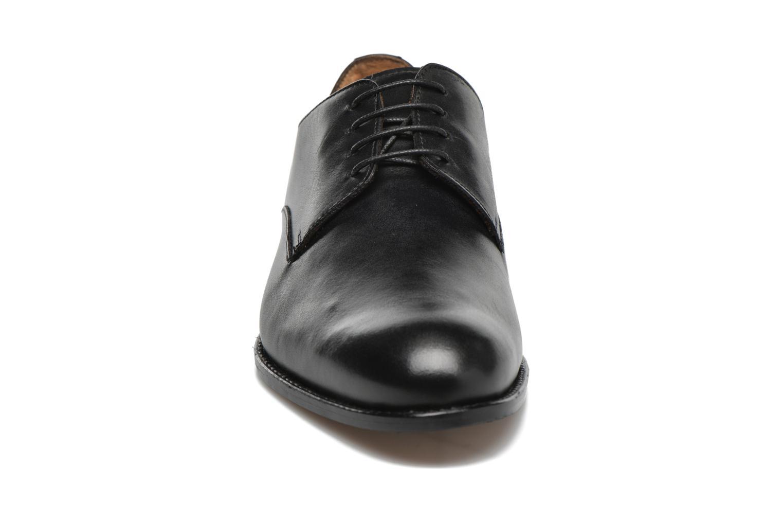 Schnürschuhe Marvin&Co Naust schwarz schuhe getragen