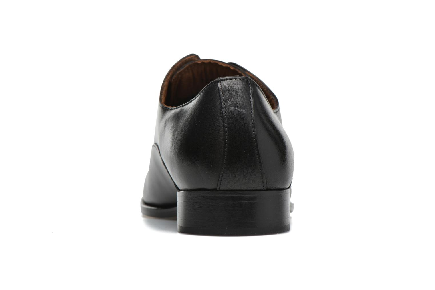 Lace-up shoes Marvin&co Naust Black view from the right