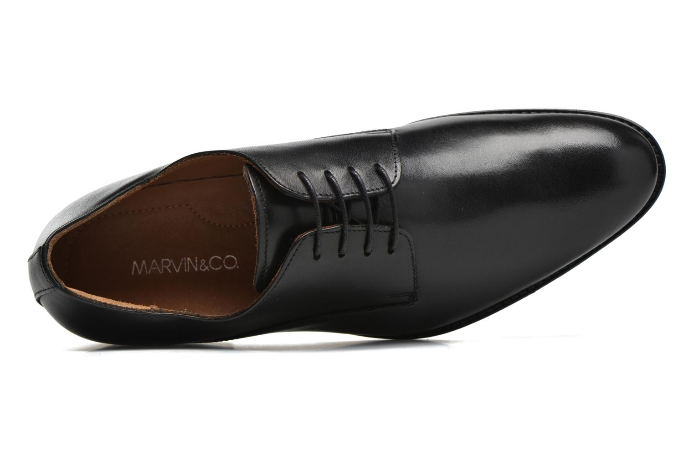 Schnürschuhe Marvin&Co Naust schwarz ansicht von links